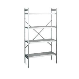 NORM 20 – Aluminium-Regale 1200 x 500 x 1800 mm