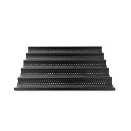 Aluminiumblech FORO.BAGUETTE.BLACK, 600 x 400