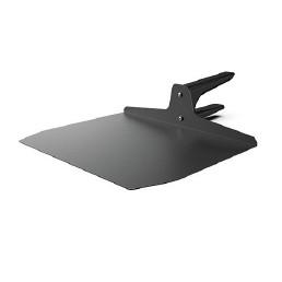 Aluminiumspatel flach für TG360, groß