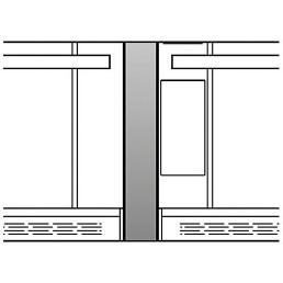 Doppelofen-Set nebeneinander