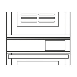 Montageset CUBE+CUBE / CUBE+BLSP 460 x 330