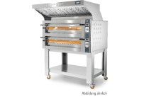 Elektro-Einkammer-Backofen stapelbar / Backkammer 720 x 720 x 140 mm