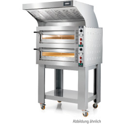 Elektro-Einkammer-Backofen stapelbar / Backkammer 720 x 1080 x 140 mm