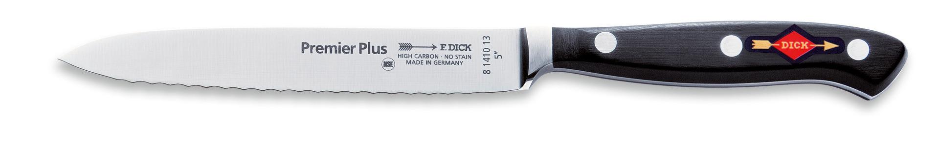 Premier Plus, Allzweckmesser Klingenlänge 130 mm Wellenschliff geschmiedet