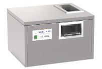 Besteckpoliermaschine Tischmodell 3000 Bestecksteile/h / 600 x 540 x 405 mm