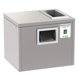 Besteckpoliermaschine 2000 Besteckteile/h / 500 x 430 x 440 mm