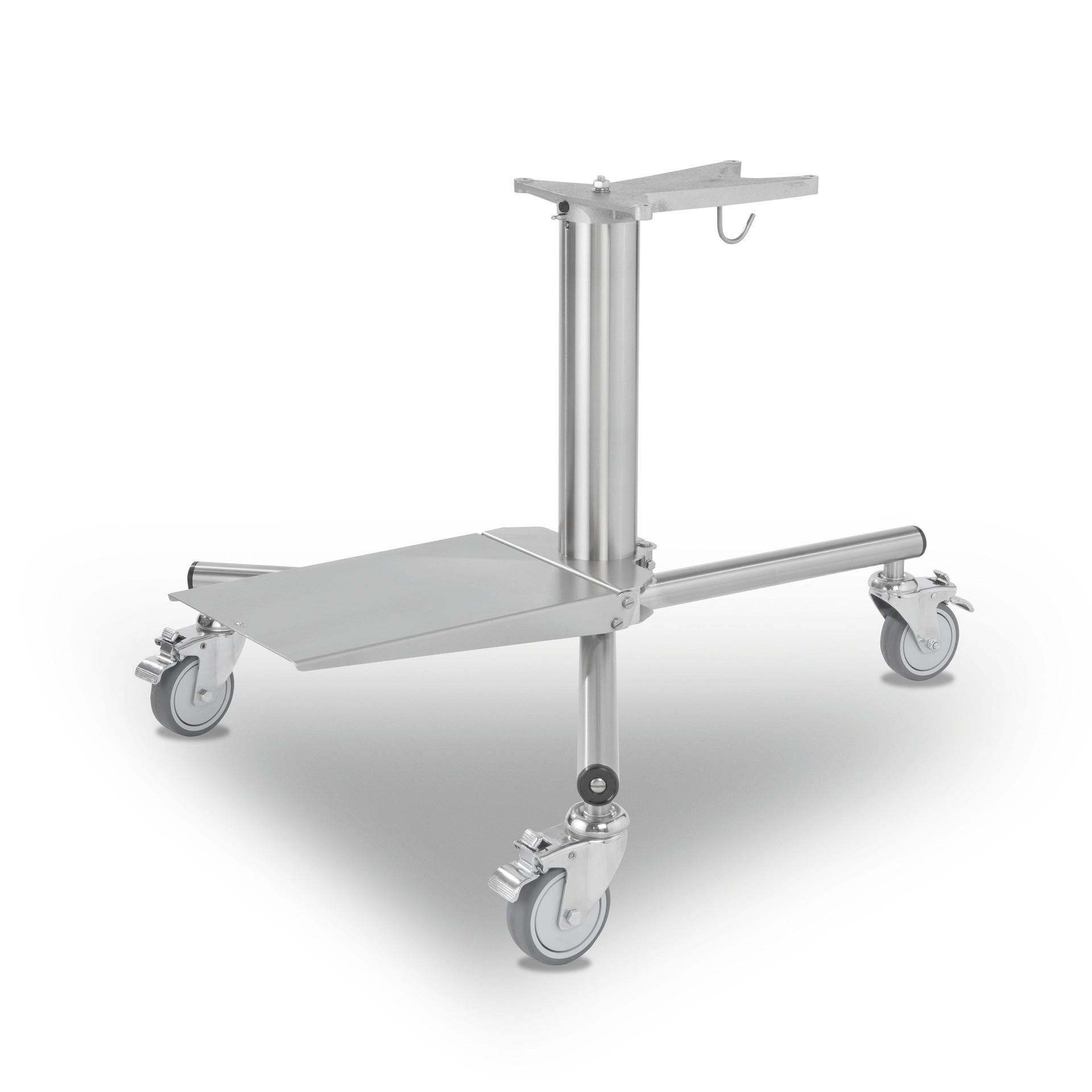 Untergestell fahrbar mit 3 Lenkrollen für HU 1020-2 / mit Abstelleinrichtung