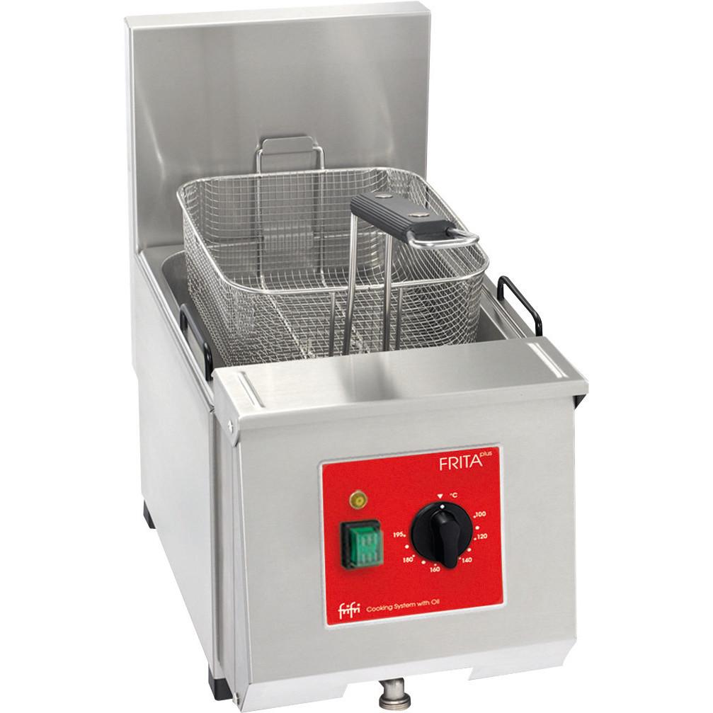 Elektro-Fritteuse 1 x 7,00 l / Füllmenge Korb 0,75 kg