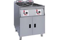 Elektro-Fritteuse 2 x 14,00 l / Füllmenge Korb 1,00 kg