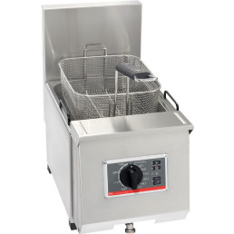 Elektro-Fritteuse 1 x 7,00 l / Füllmenge Korb 0,80 kg