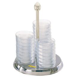 Schälchenhalter Mini ø 160 x 210 mm inkl. 30 Glasschälchen