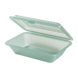 Speisenbehälter mit einem Fach (klein) 230 x 165 x 64 mm jadegrün