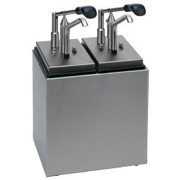 Saucenbar 1-tlg. 125 x 200 x 430 mm mit Hebeldosierspender
