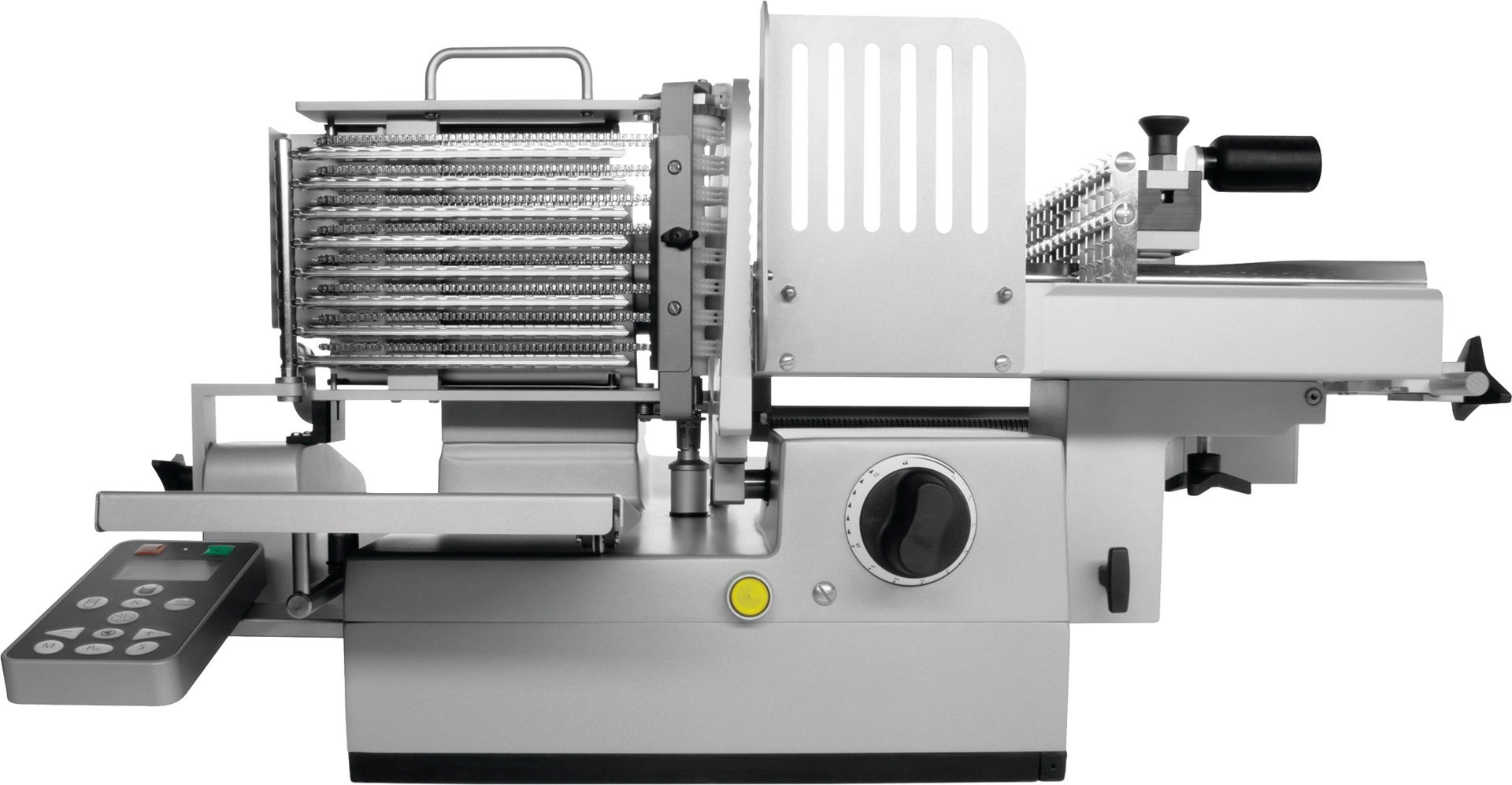 Vollautomatische Aufschnittmaschine ø 300 mm / 230 V / VA802 ...