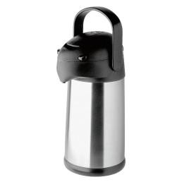 Pump-Isolierkanne 2,50 l aus Edelstahl