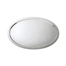 Ausstellplatte oval ohne Griffe 516 x 392 x 15 mm