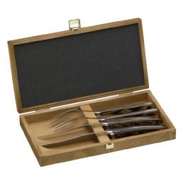 Taurus, Steakbox 2 x Steakmesser / 2 x Steakgabel 275 x 145 x 40 mm