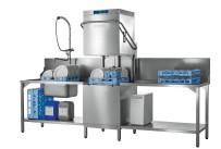 Durchschubspülmaschine Profi AMXXR mit Abwasser-Wärmerückgewinnung / 500 x 500 mm