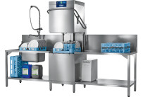 Durchschubspülmaschine Profi AMXXR-10B mit Abwasser-Wärmerückgewinnung / 500 x 500 mm