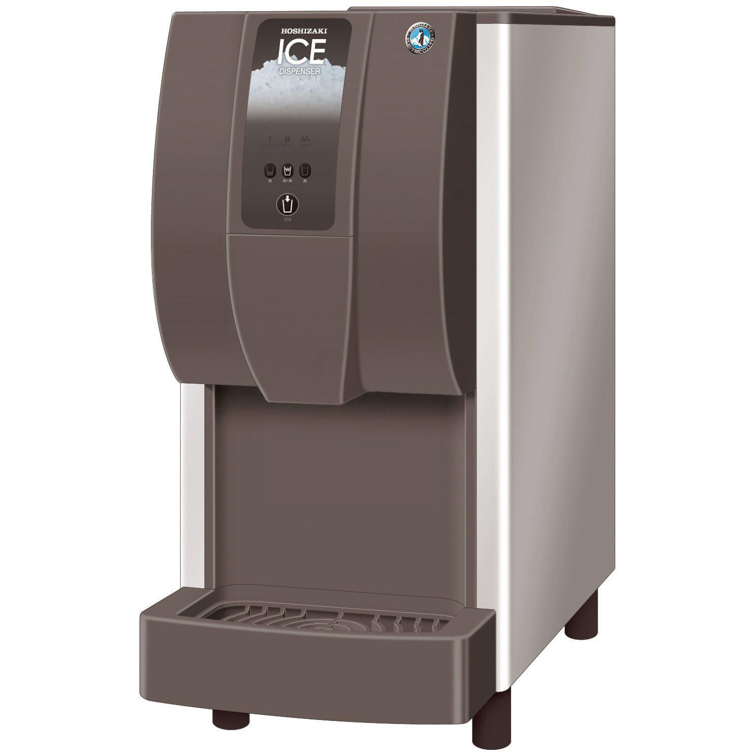 Eis- / Wasserdispenser DCM-60 / 60,00 kg/24h / 1,90 kg Vorrat / Luftkühlung