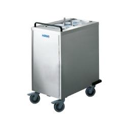 Universal-Geschirrstapler unbeheizt Stapelbühne 570 x 280 mm Edelstahl