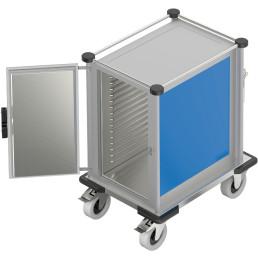 Speisentransportbox für 15 x GN 1/1 Flex 1 Fach Höhenraster 37,5 mm