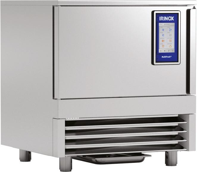 Schnellkühler / Schockfroster 4 x GN 1/1 - 65 mm / Leistung 25,00 kg + Warmfunktion