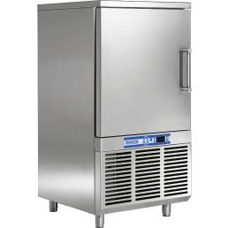 Schnellkühler / Schockfroster 9 x GN 1/1 65 mm tief / luftgekühlt / Leistung 30,00 kg