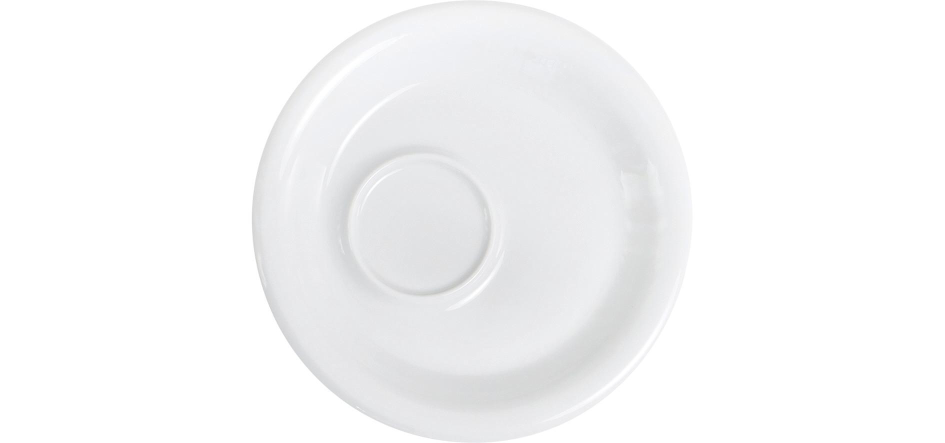 Café Sommelier 2.0, Kombi-Untertasse ø 160 mm weiß