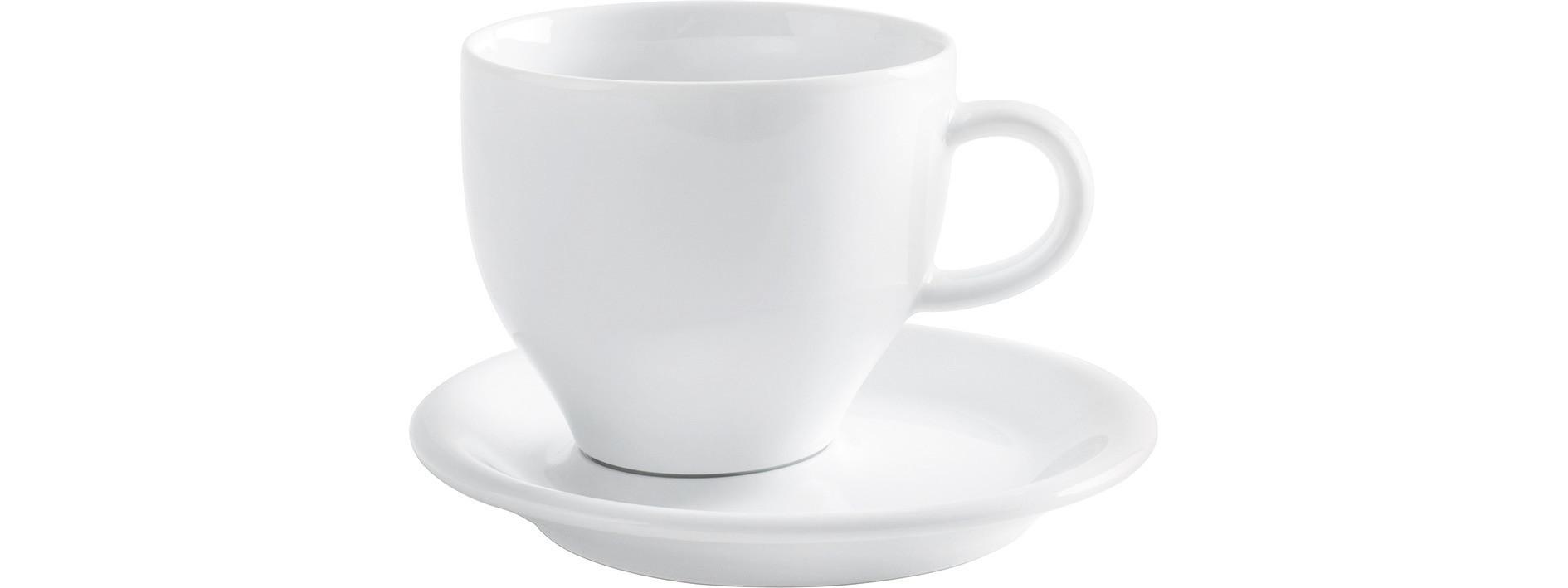 Café Sommelier 2.0, Milchkaffeetasse ø 102 mm / 0,37 l weiß