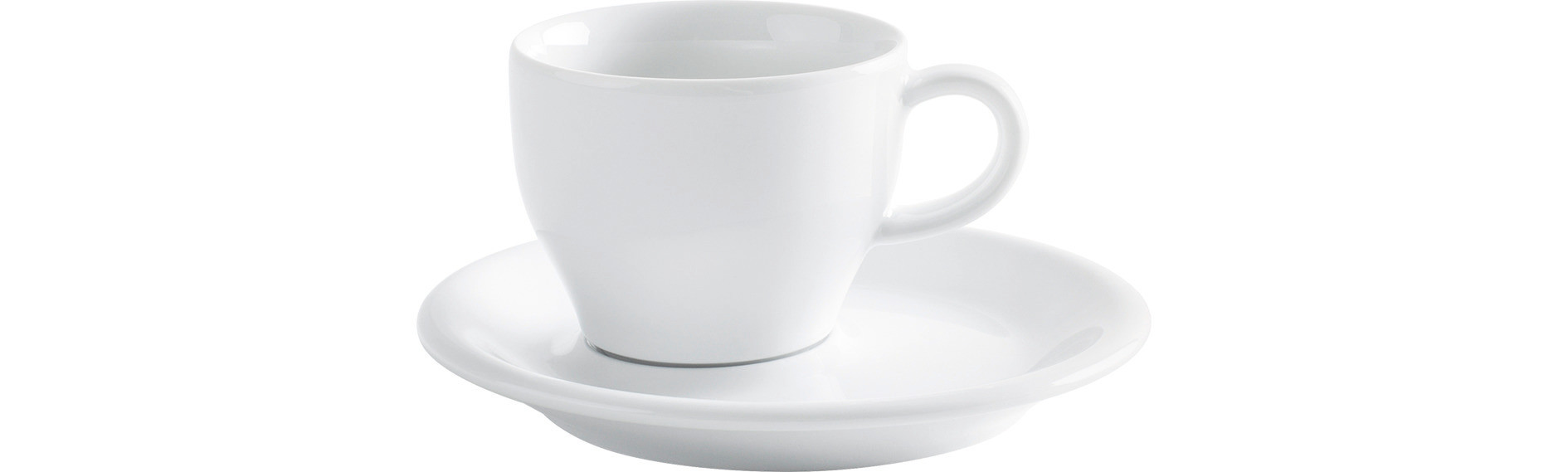 Café Sommelier 2.0, Cappuccinotasse Italiano 0,18 l weiß
