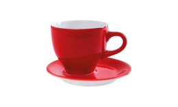 Café Sommelier 2.0, Milchkaffeetasse ø 102 mm / 0,37 l rot