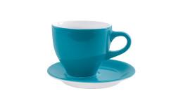 Café Sommelier 2.0, Milchkaffeetasse ø 102 mm / 0,37 l petrol