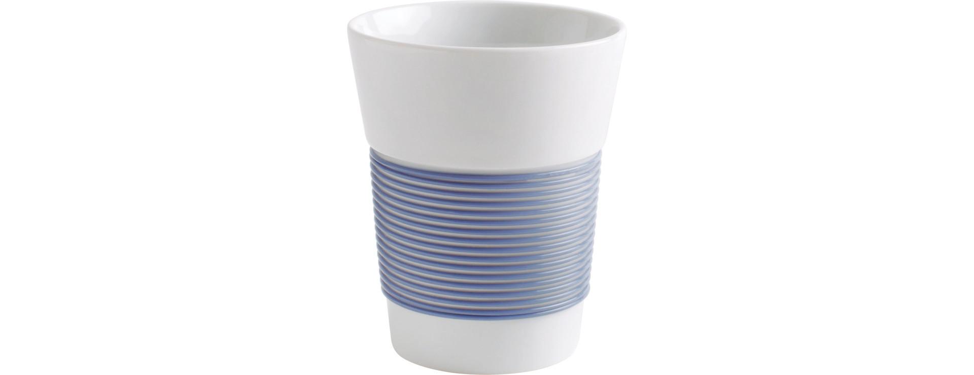 cupit, Becher ø 95 mm / 0,35 l stormy blue mit Magic Grip + Boden