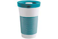 cupit, Becher + Snackdeckel ø 95 mm / 0,47 l green lagoon mit Magic Grip