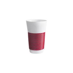 cupit, Becher 0,47 l dark cherry mit Magic Grip Umrandung