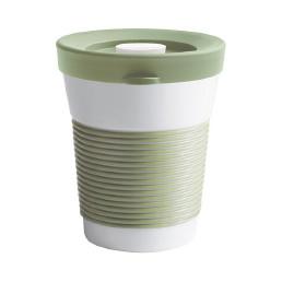 cupit, Becher + Snackdeckel ø 95 mm / 0,35 l fresh herbs mit Magic Grip