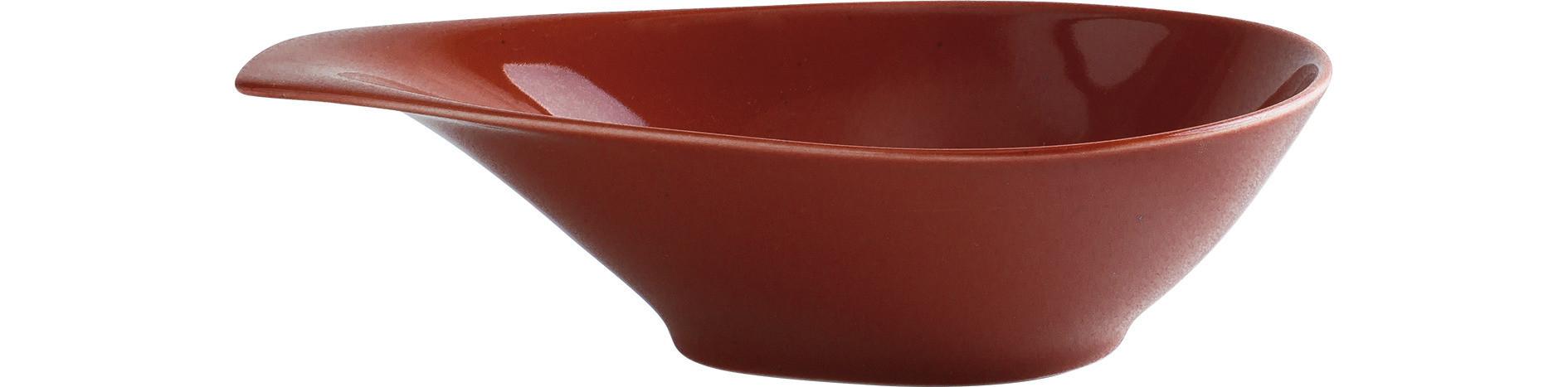 Homestyle, Schale mit Griff 237 x 162 mm / 0,60 l siena red