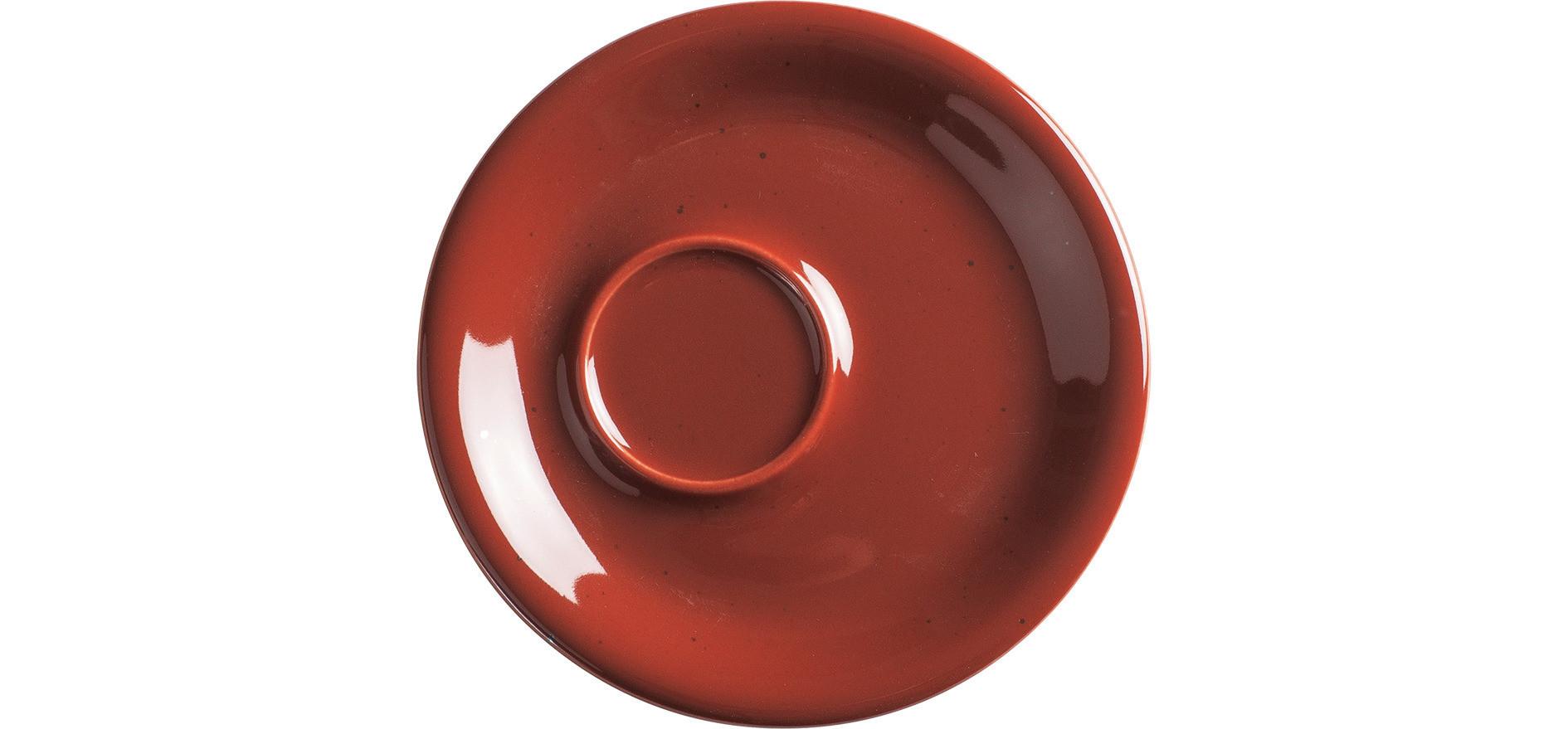Homestyle, Untertasse ø 160 mm siena red