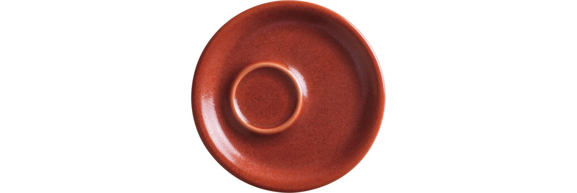 Homestyle, Espresso Untertasse ø 115 mm siena red