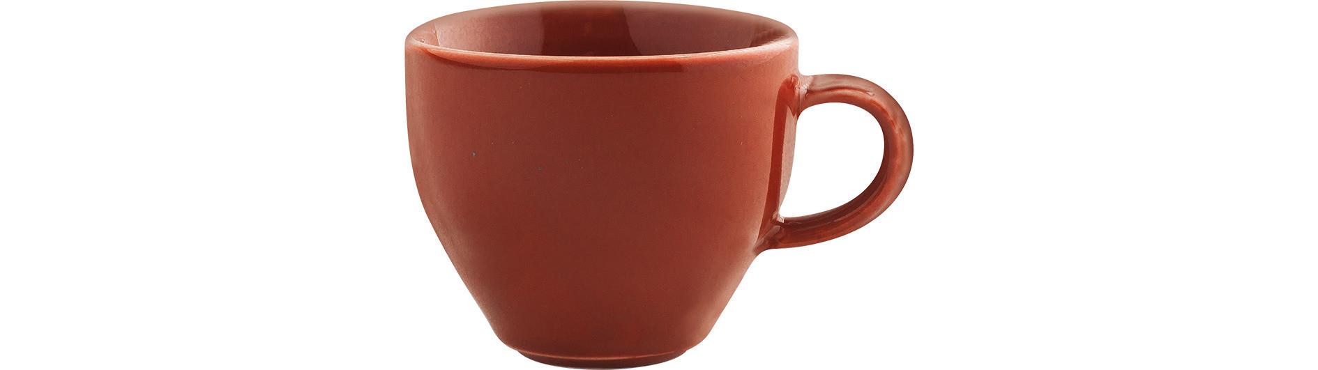Homestyle, Milchkaffeetasse ø 101 mm / 0,30 l siena red
