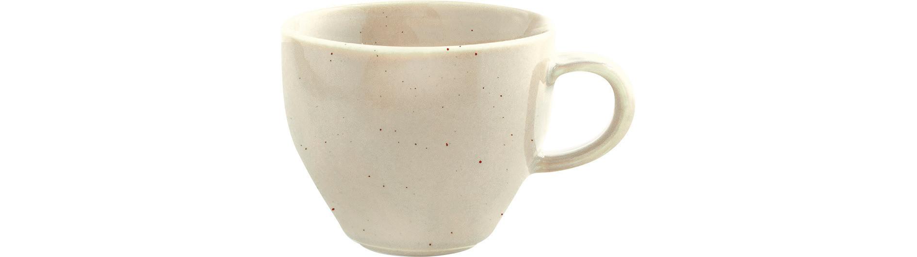 Homestyle, Milchkaffeetasse ø 101 mm / 0,30 l natural cotton