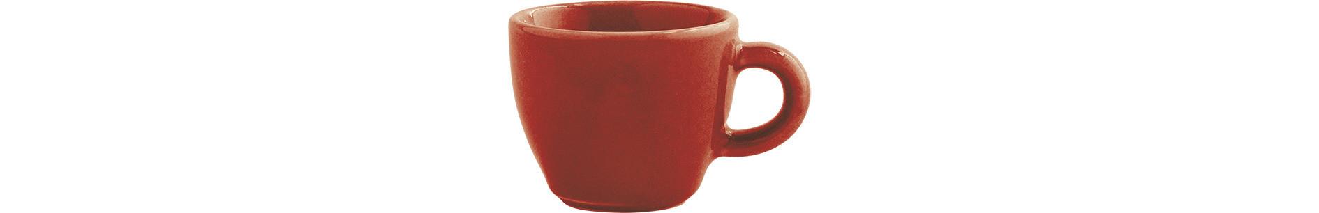 Homestyle, Espressotasse ø 60 mm / 0,03 l siena red