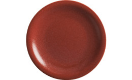 Homestyle, Teller flach ø 215 mm siena red