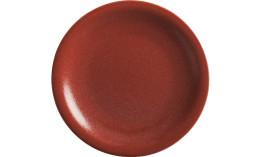 Homestyle, Teller flach ø 215 mm siena red