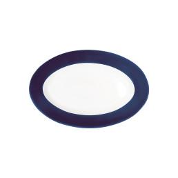 Pronto, Platte oval 230 x 155 mm nachtblau
