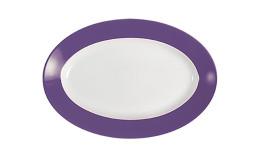 Pronto, Platte oval 230 x 155 mm lila