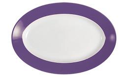 Pronto, Platte oval 280 x 190 mm lila