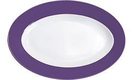 Pronto, Platte oval 320 x 220 mm lila