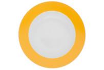 Pronto, Teller tief ø 220 mm orange-gelb